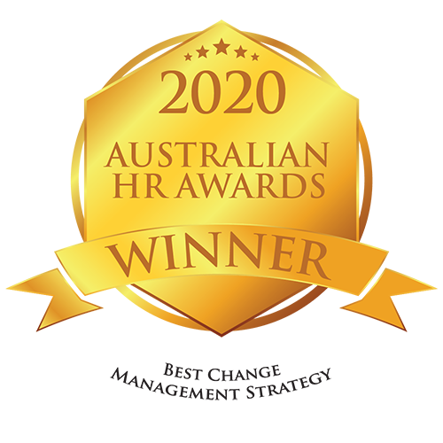2020 Australian HR Awards Winner - Best Change Management Strategy
